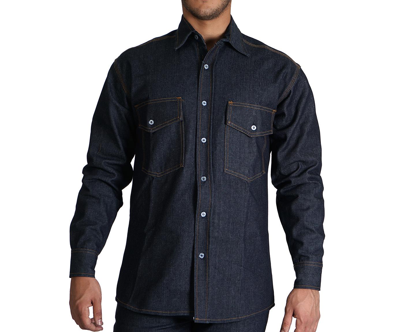 Camisa en Jean | Camisas, Dotaciones Industriales