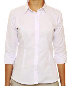 camisa oxford dama mangas 3.4
